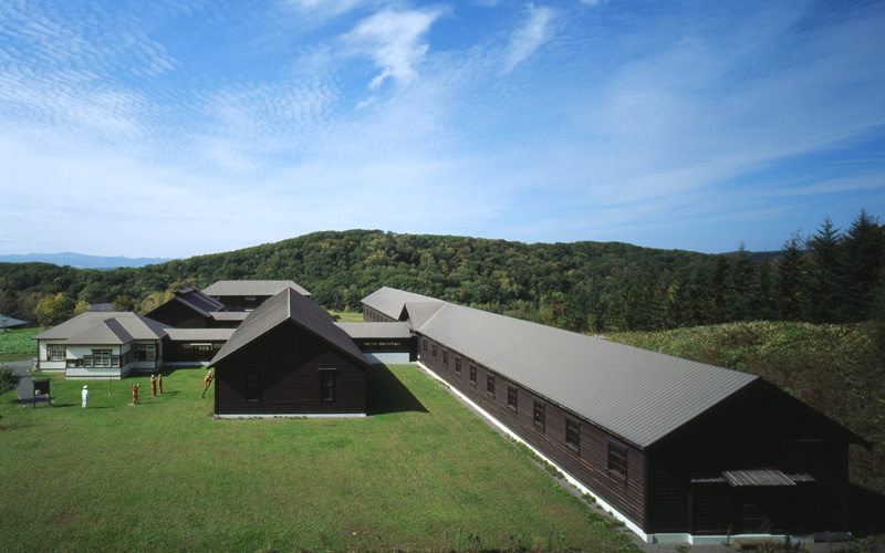 Buildings of the Futamigaoka Branch, the original Abashiri Prison